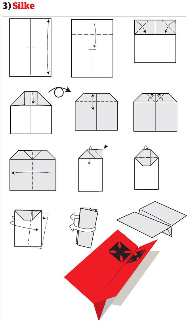 Origami Best Paper Airplane Ever