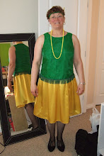Lucie's John Deere Flapper Dress