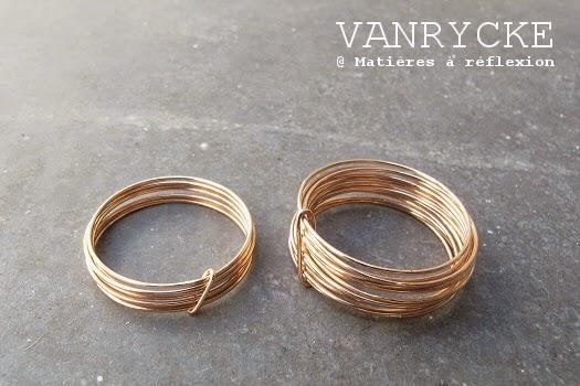 Code Promo Vanrycke bagues -30% or rose 18 carats