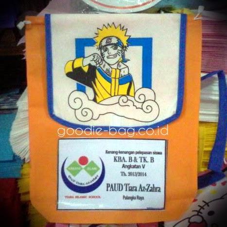 Tas Ulang Tahun Ramsel Murah Naruto