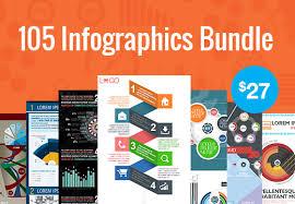Download Bundle of 105 Infographics Design Templates online best review