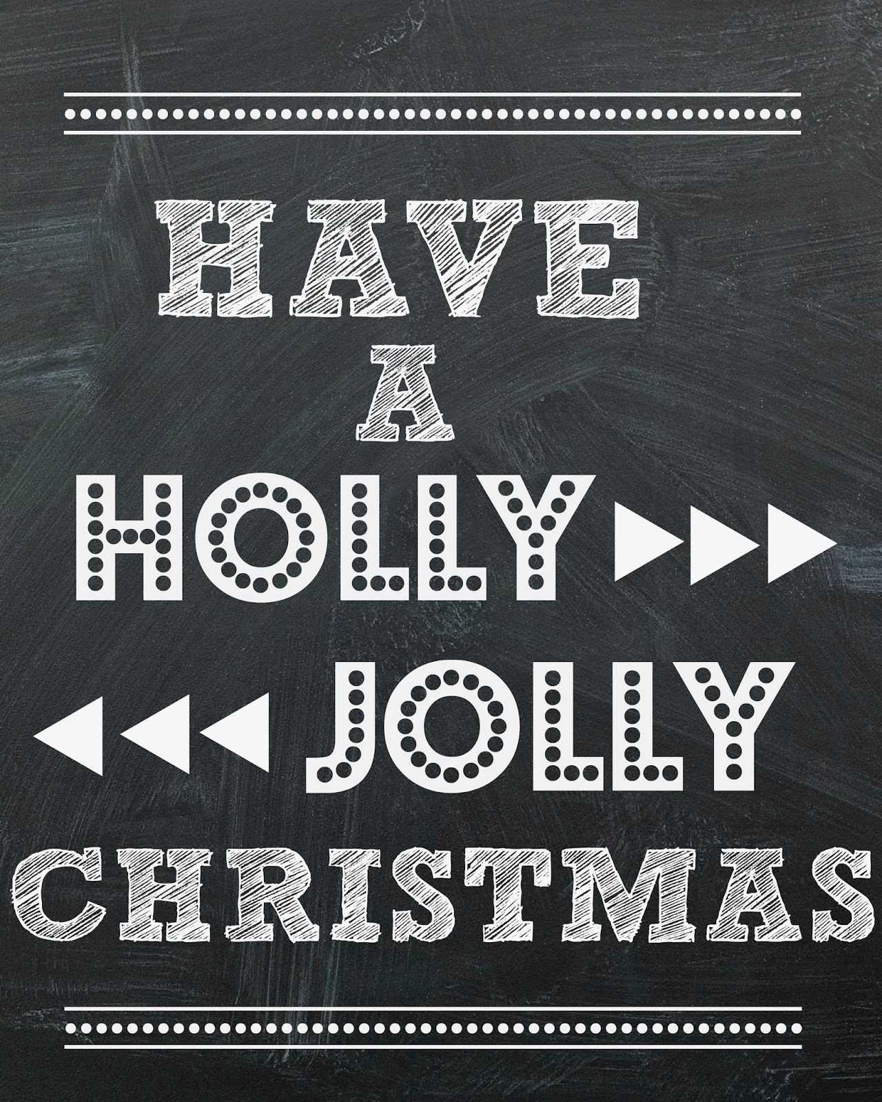 free chalkboard printable have a holly jolly christmas mimi lee printables