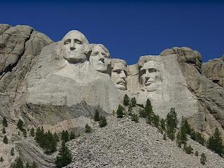 Mount Rushmore National Memorial ( South Dakota, Amerika Serikat)