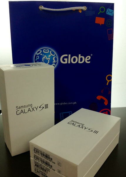 globe galaxy s3