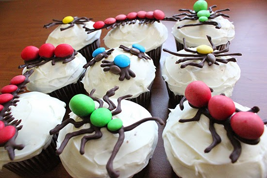 Insect Bug Chocolate Cupcakes