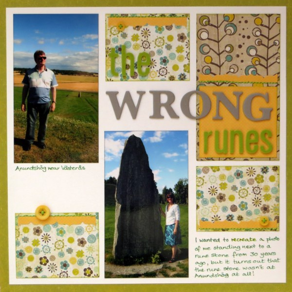 Jimjams - The Wrong Runes - April Challenge for SJ Crafts