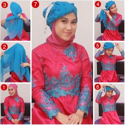 Terbaru 2015 Video Tutorial Hijab Modern Untuk Pengantin Terbaru 2015