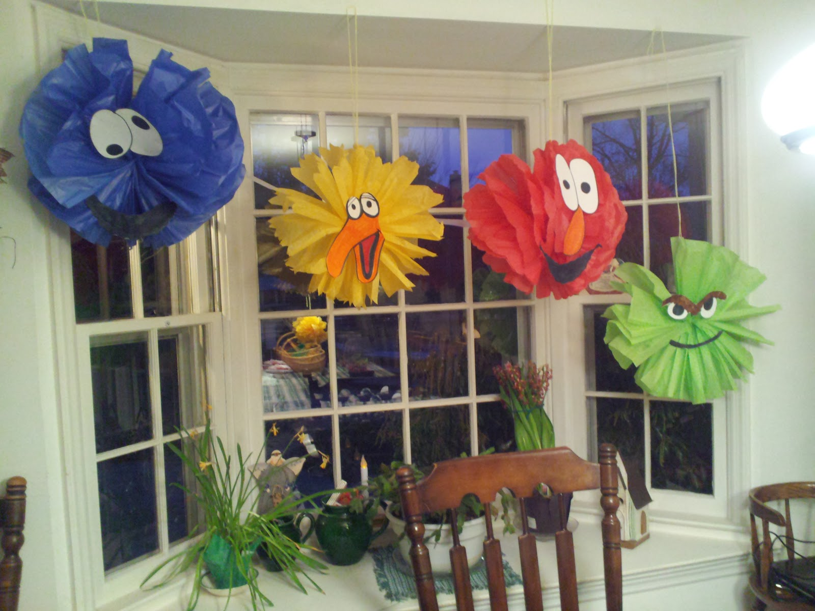 The Accidental Baby Maker: Sesame Street Party Decor