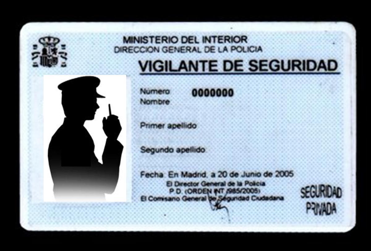 SINDICATO PROFESIONAL DE VIGILANTES - SEVILLA: Nueva Tarjeta de ...
