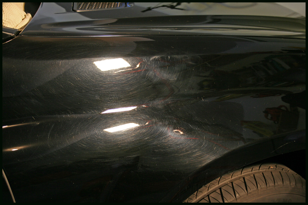 how to remove the car swirl marks compounding car wash