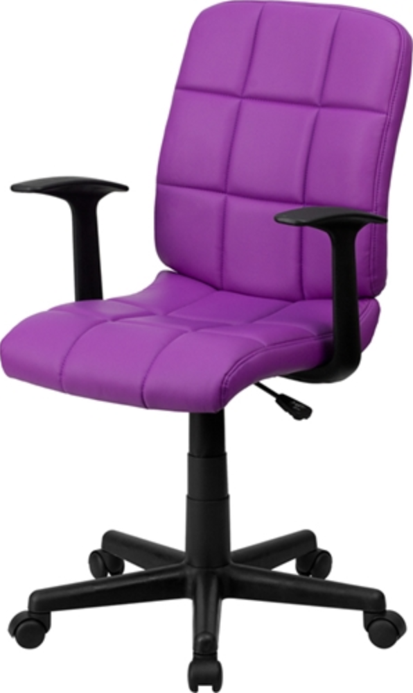 Purple Mesh Office Chair by Flash Furniture