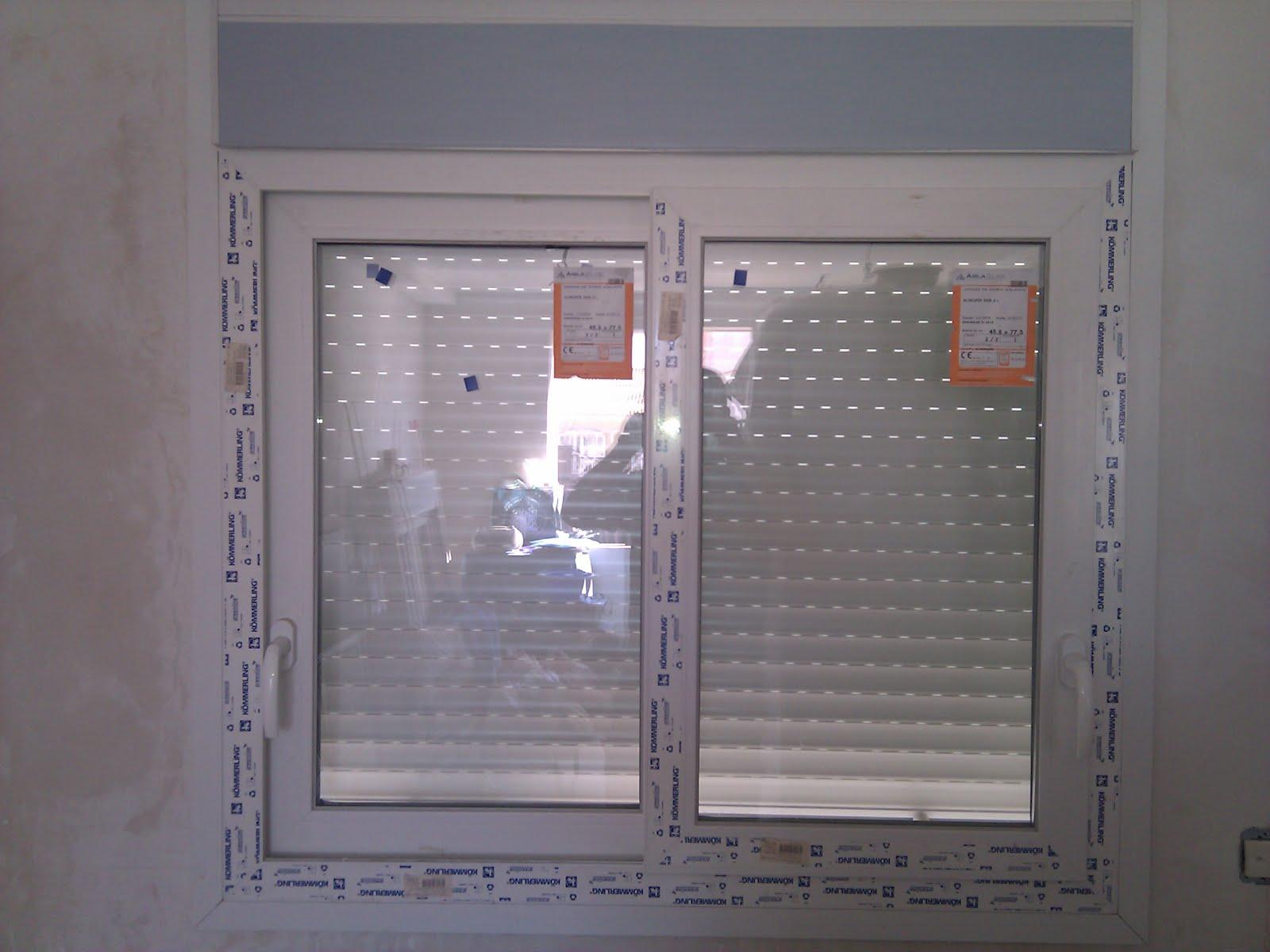 Cristaleria alubera for Ventana aluminio 120x120