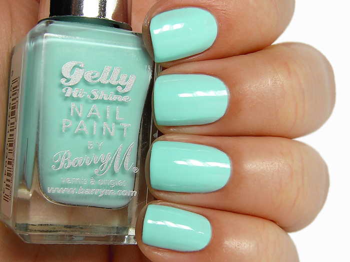 Barry M Gelly Nail Paint - Sugar Apple