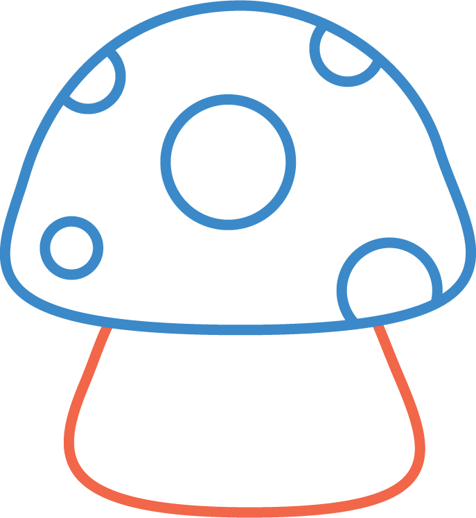 Sugarcherry how to draw a chibi mushroom for How to draw a mushroom