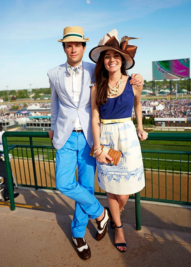 The Kentucky Derby is the preppy fashion event of the spring. No matter if you're watching the race in Louisville or hosting a Derby-themed party, the key to any fabulous Derby event is dressing.