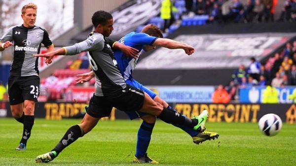 Full match: Wigan vs Tottenham Hotspur 27/04/2013