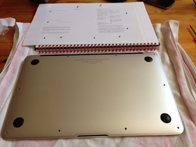 MacBook Air battery replacement