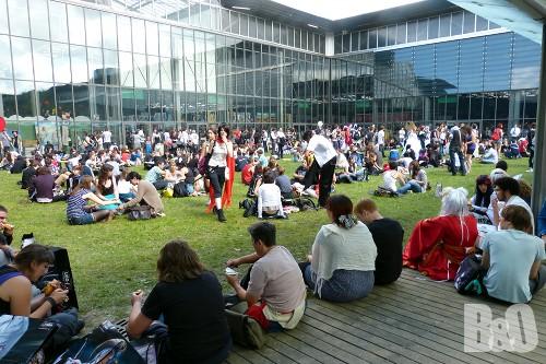 japan expo 2012 extérieur