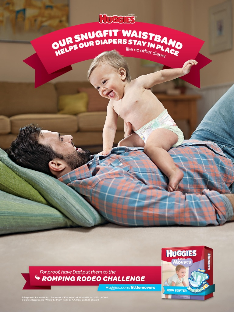 Essay Collections: Huggies Snugfit Diaper: Fits the Need of Dads