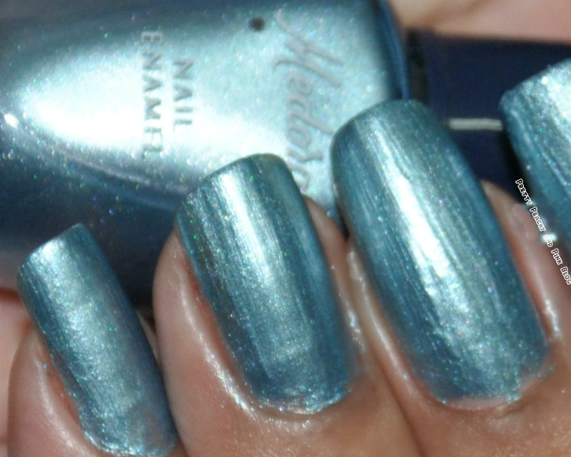 medora mini nail polish,Pakistani nail polish,electric blue nail polish