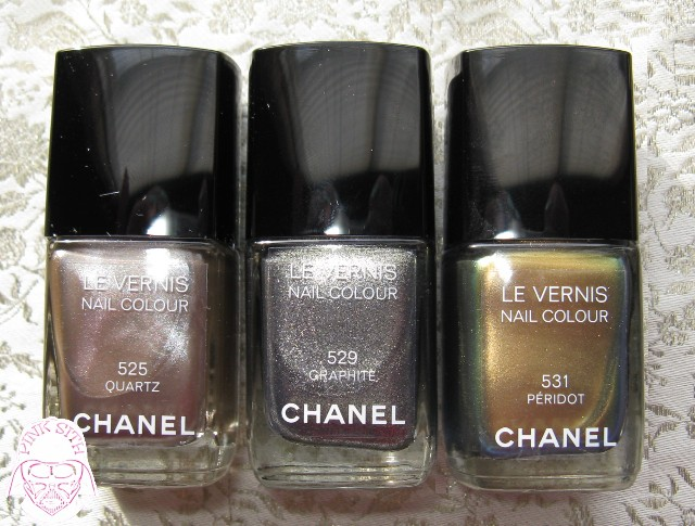 Pink Sith: Chanel Le Vernis Nail color in Peridot ...