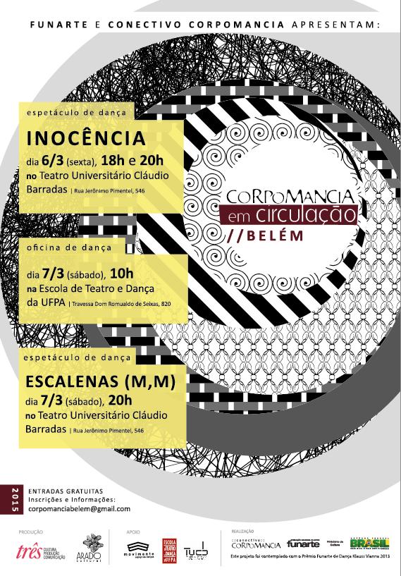 No Teatro Cláudio Barradas e ETDUFPA