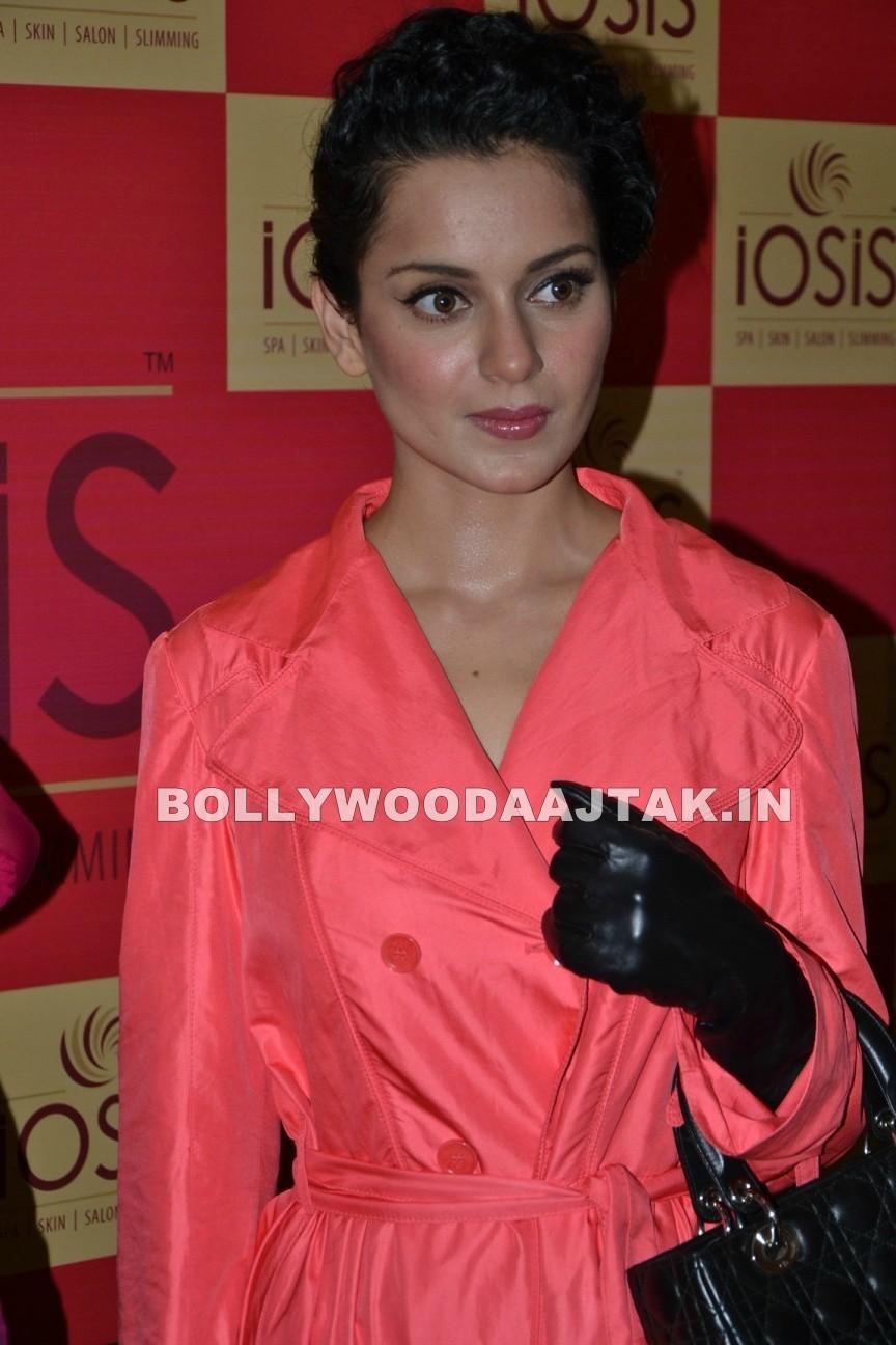 , Kangana Ranaut & Shamita Shetty At Iosis Spa Launch