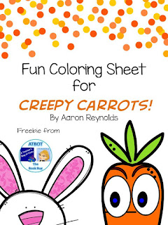 Then I Let Them Draw Their Own Creepy Carrot You Can Download The Coloring Sheet For