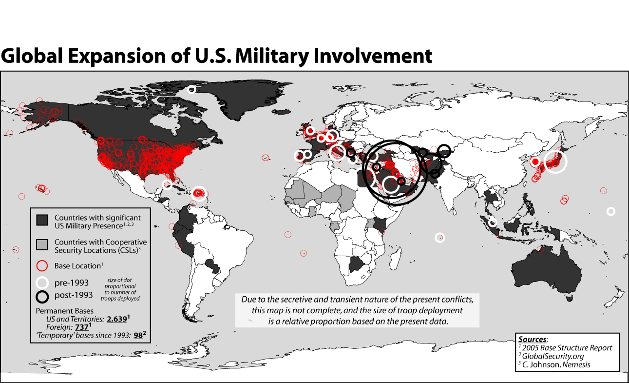 Bases Of Empire The Global Spread Of Us Military And