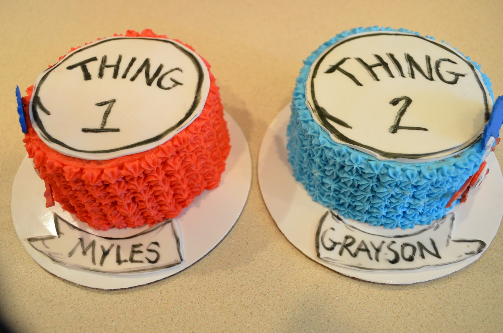 Cake Mama Thing Myles And Thing Grayson
