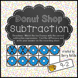 https://www.teacherspayteachers.com/Product/Donut-Shop-Subtraction-592289