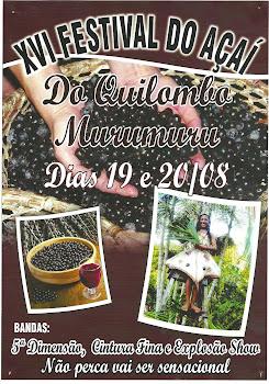 Festival do açaí - Murumuru