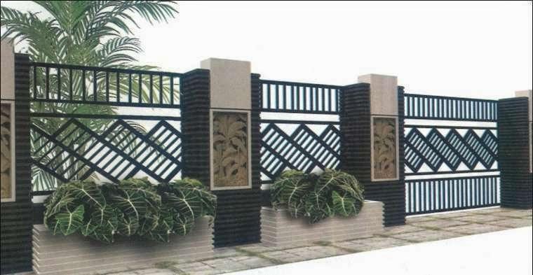 bentuk pagar rumah submited images