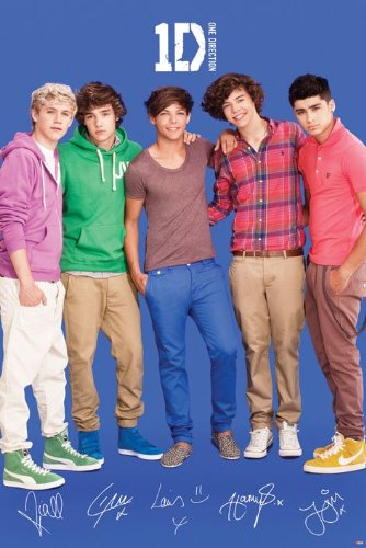 One Direction 2012 Posters One Direction Sign Pos...