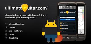 Ultimate Guitar Tabs 1.4.5 Apk | aplikasi gitar Android