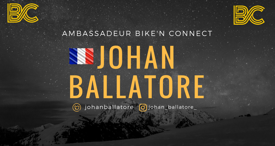 Johan Ballatore - Coureur Cycliste Handisport -