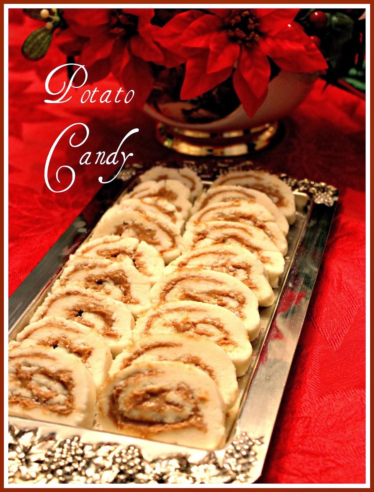 Sweet Tea and Cornbread: Old Fashioned Potato Candy!
