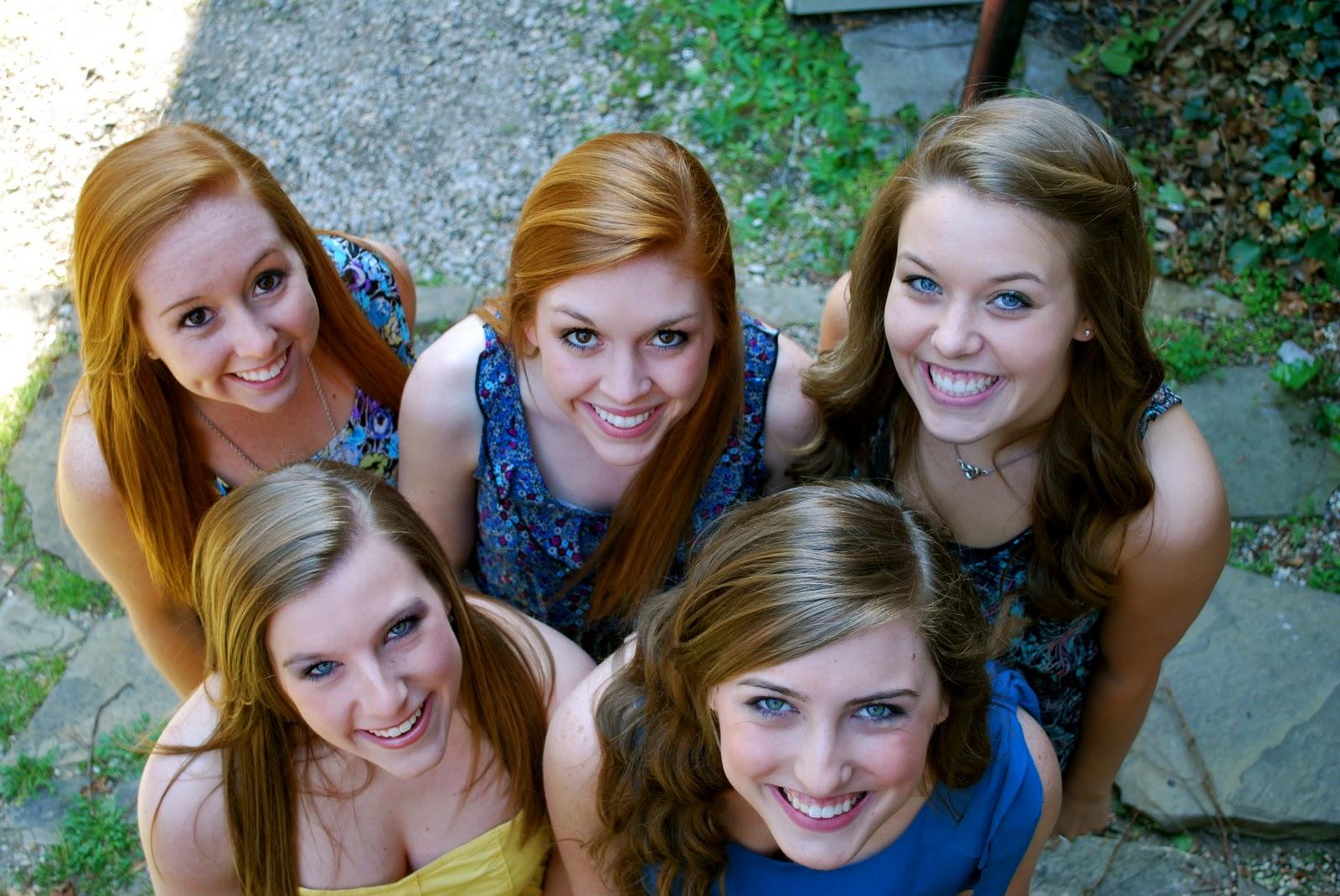 Allison Harms Photography: Senior Girls Group Session
