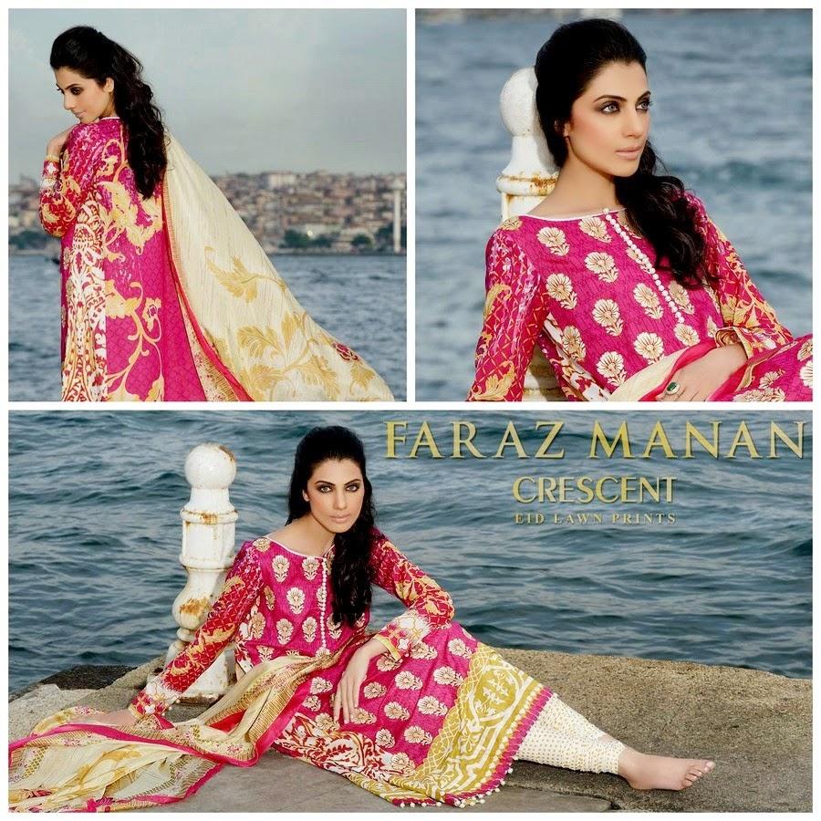 Faraz Manan Eid Lawn Prints