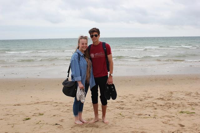 georgina-minter-brown-georgie-frequencies-holiday-bournemouth-birthday-trip-sea-coast-ocean-couple-boyfriend
