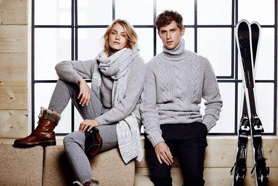 Massimo Dutti colección limitada Après Ski otoño invierno 2014 2015