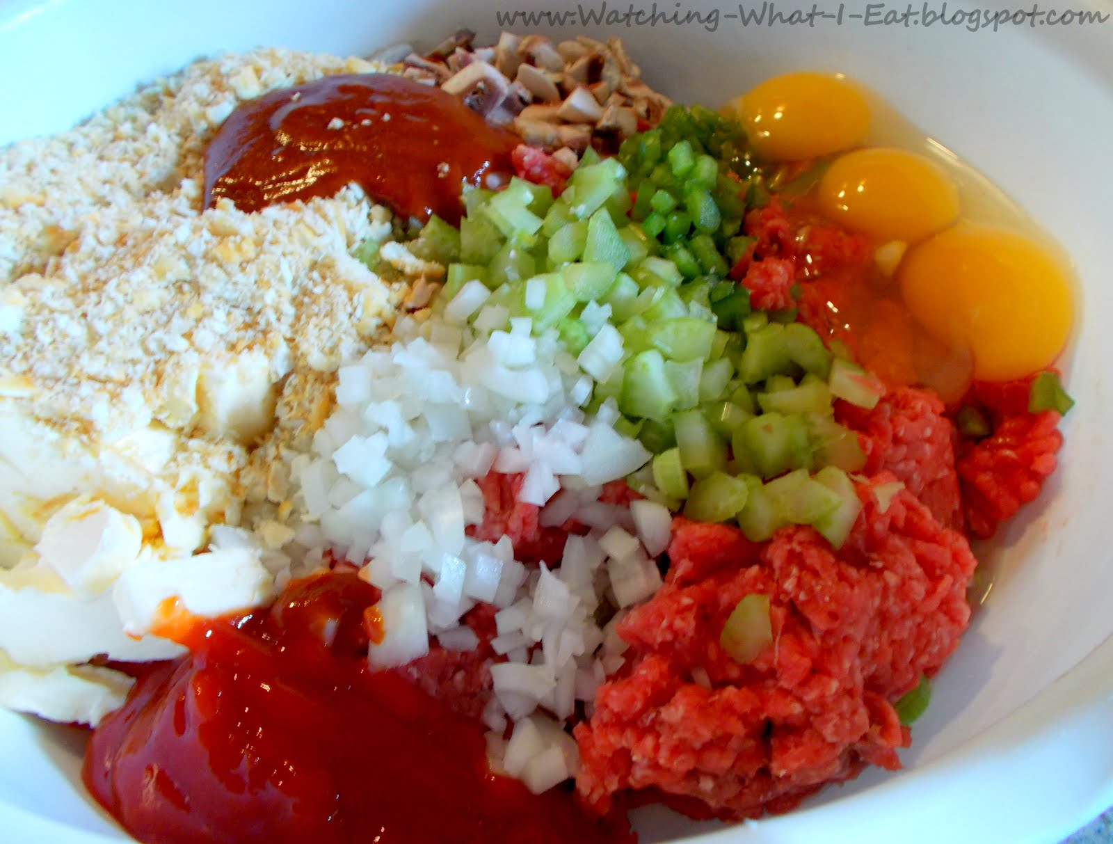 Watching What I Eat: Mike's Classic Meatloaf ~ another old family ...