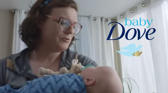 Διαφήμιση του Dove παρουσιάζει άντρα ως «μαμά»