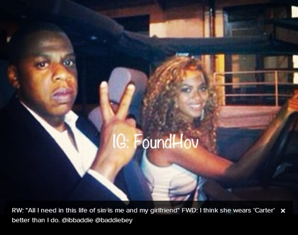 ... Whitman Writes: Jayz Shows Beyonce Love on Instagram - She Saved Me