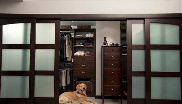 Fotos y dise os de puertas puerta correderas for Puertas metalicas para habitaciones