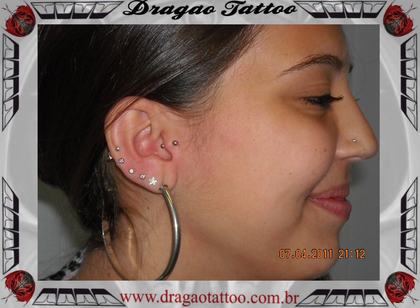 Piercing No Nariz