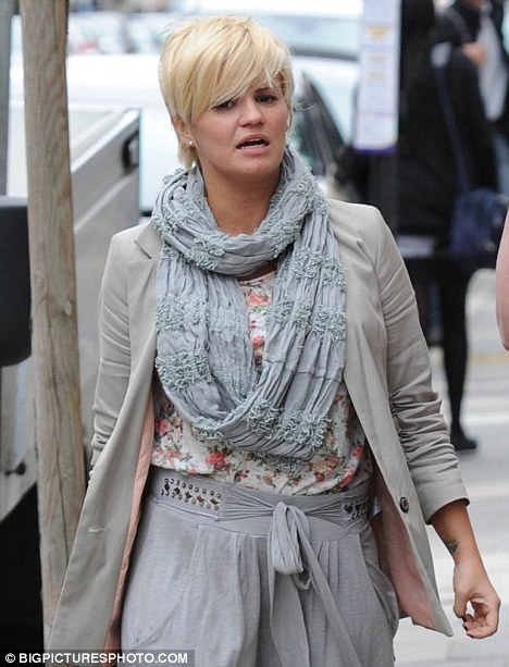 Keeping your word! Kerry Katona sticks to her plan to have ...