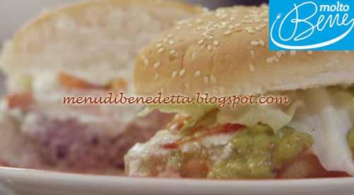 Hamburger fajtas ricetta Parodi per Molto Bene su Real Time