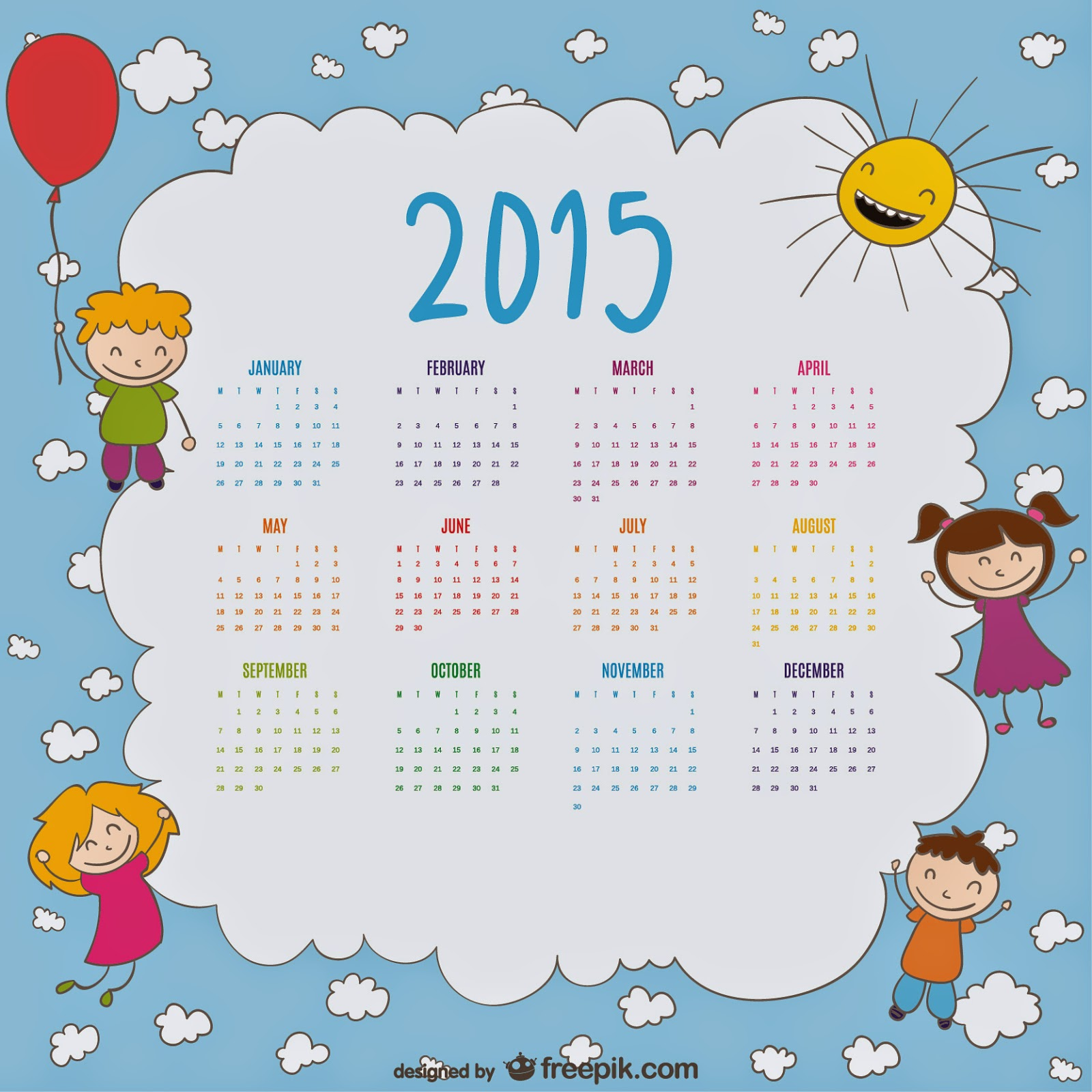 "1600 x 1600 jpeg 301kB, ... for ""Calendar 2015 Vector Template/page ..."