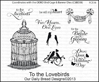 Stamps - Our Daily Bread Designs To the Love Birds